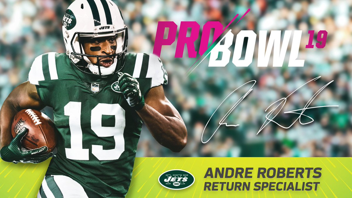 The AFC's return specialist: @AndreRoberts!  📰 https://t.co/XCA7910jqy