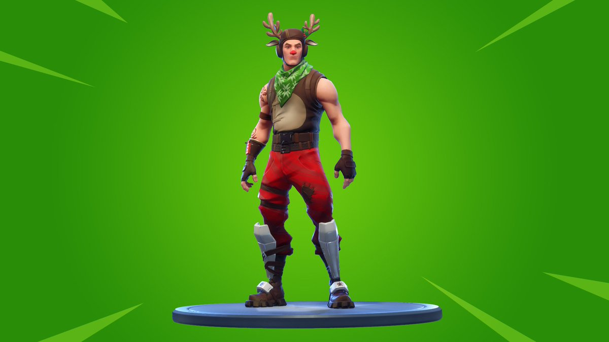 Thoughts on Red-Nosed Ranger and the new Candy Cane wrap? #Fortnite <br>http://pic.twitter.com/TdrVsFwiMc