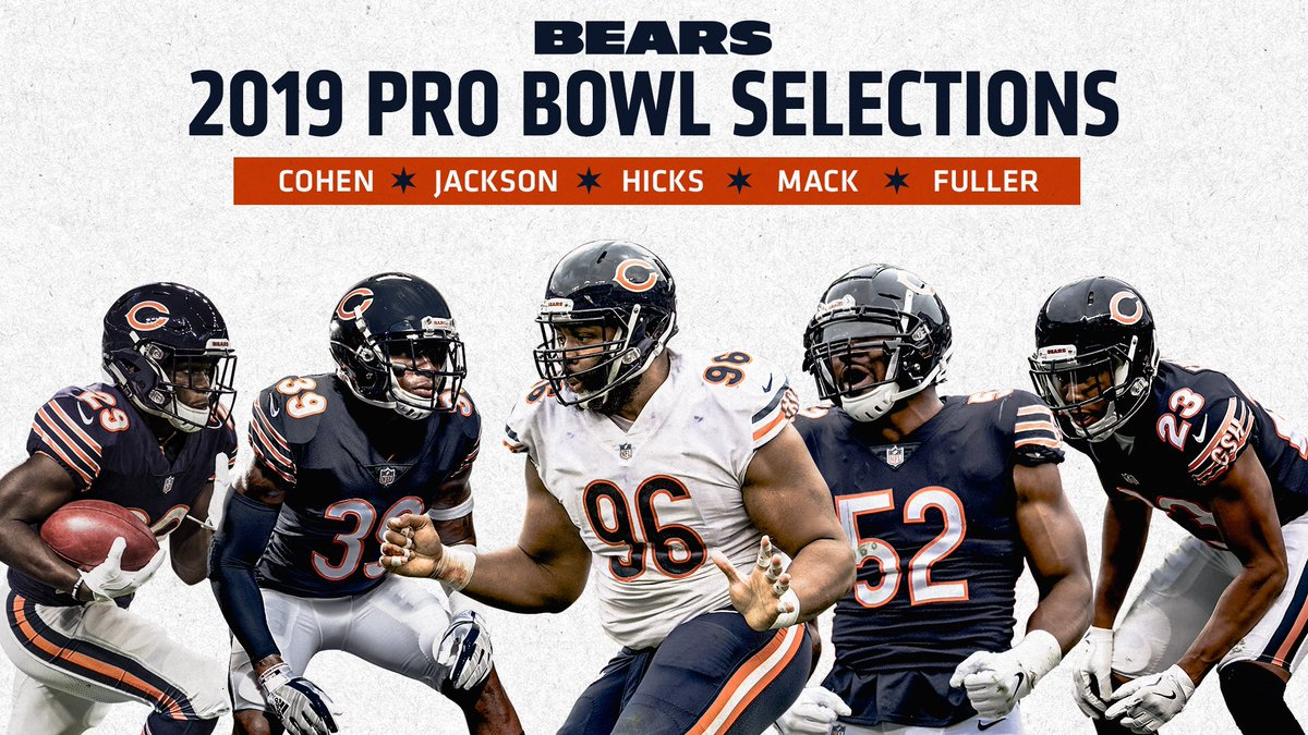 Chicago Bears On Twitter Dabears Will Be Well Represented