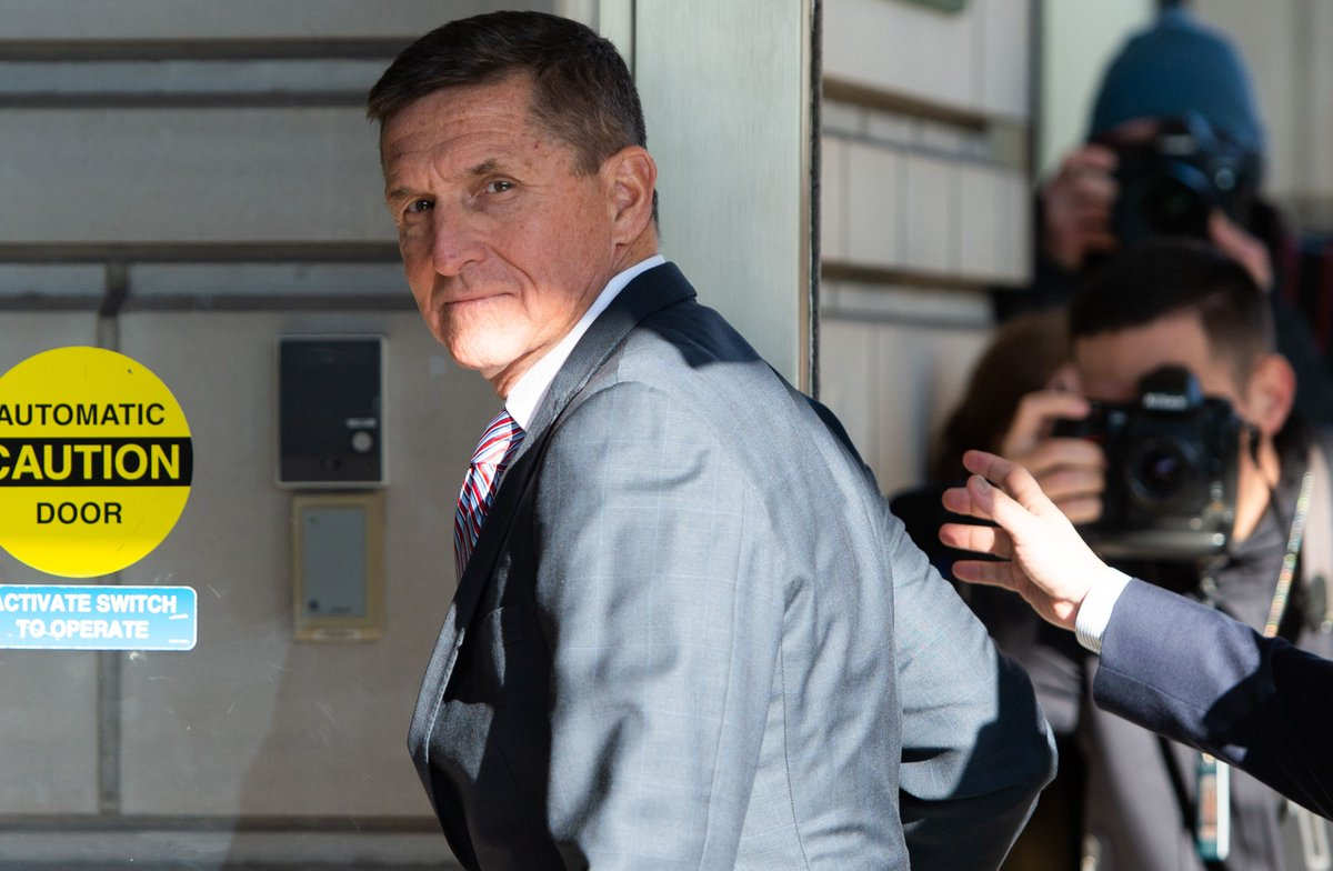 Each time Flynn confirmed that he was guilty, that he was accepting responsibility and that the FBI hadn't entrapped him, another nail was pounded into the coffin of a major anti-Mueller conspiracy theory https://t.co/xuyKWf7Ibf