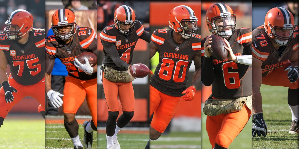 Six #Browns  were named alternates for the #ProBowl  »  http:// brow.nz/lBoCZA  &nbsp;  <br>http://pic.twitter.com/s0iVviAkqU
