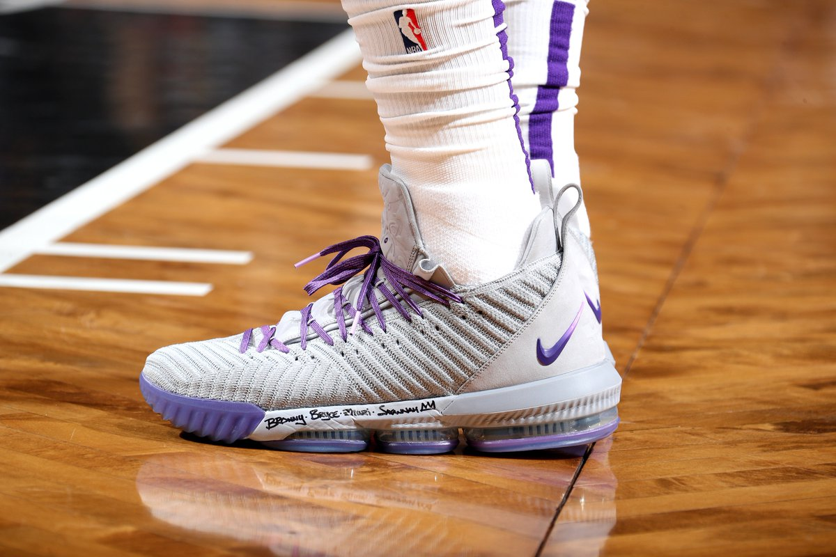 LeBron James&#39; #NBAKicks in Brooklyn.<br>http://pic.twitter.com/jo5QRjb3TP