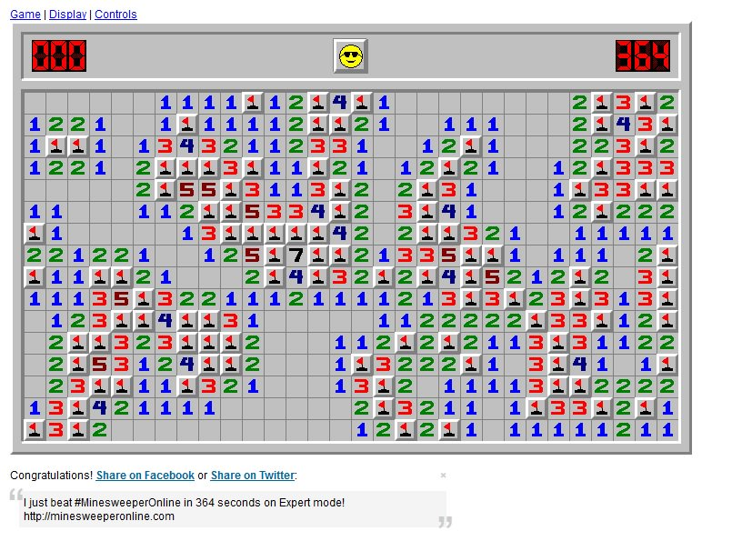 How do you beat minesweeper | How to cheat at Minesweeper