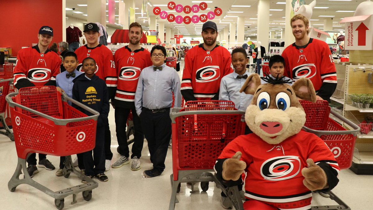 Carolina Hurricanes On Twitter The Canes Paired Up With Students