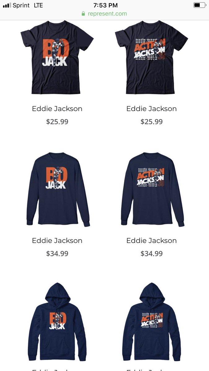 sports shoes 55116 33f2d Eddie Jackson on Twitter: