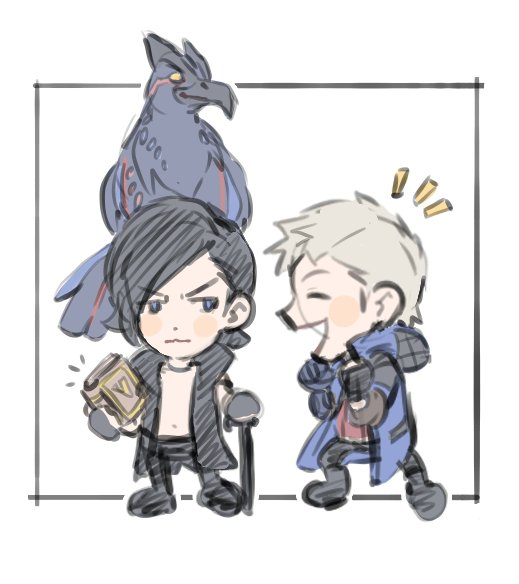 #DMC5 doodles cuz the new V trailer that dropped today was pretty nice👍