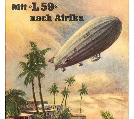 """Weird History on Twitter: """"In 1917, the Zeppelin L59 flew on a mission to  Africa, covering 4,200 miles in 95 hours - still the longest non-stop  military flight ever.… https://t.co/ajZoh20olu"""""""