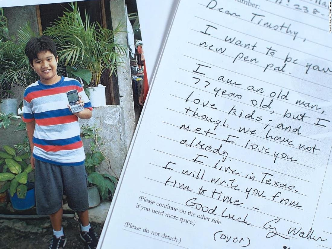 George H.W. Bush sponsored a Filipino child for 10 years, using a pseudonym to keep his identity a secret. Read some of the letters the former President and the boy sent each other https://cnn.it/2ClOxoR