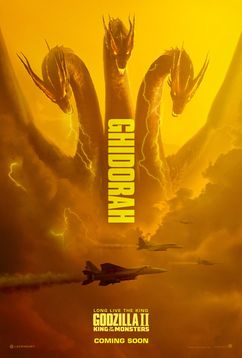 Check out the new #GodzillaMovie Titan posters now! Watch the new trailer again: https://t.co/a4HjD9e0Iw. In cinemas May 2019.