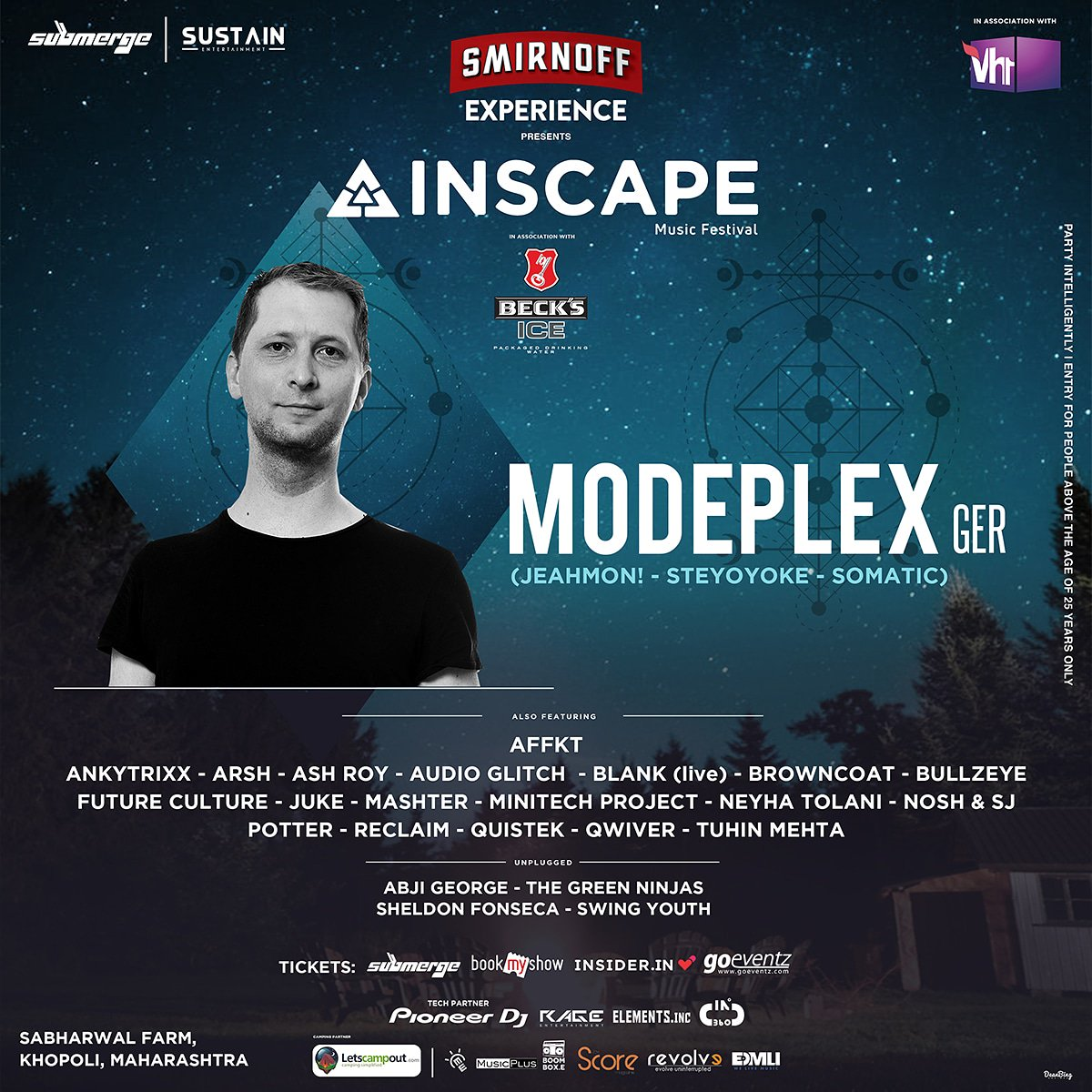 .@modeplex has developed a very personal way to compose, where different musical genres and scenes are the perfect ingredients to give birth to a wholesome kind of #techno and #deephouse. Catch him playing on Day 1 this weekend at Inscape 2018!  Tickets https://t.co/01EKSgKpk6