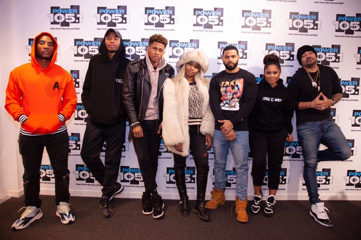 Video: The Cast Of #HustleInBrooklyn On Growing In The Industry, Reality TV Drama + More On The @breakfastclubam! https://rudeboyy.com/2018/12/18/the-cast-of-hustle-in-brooklyn-on-growing-in-the-industry-reality-tv-drama-more/ …