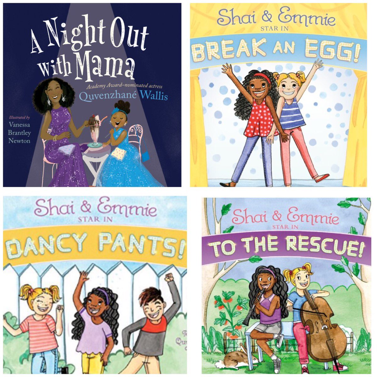 Great Christmas gifts!!!!Get them all!!!  #blessed #readingisfun #ANightOutWithMama #ShaiandEmmie