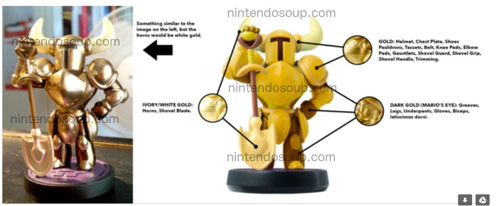 Gold Shovel Knight amiibo is coming! Listed on Play-Asia: nin.deals/2SS2j86 (not available for pre-order yet) Image from NintendoSoup -- we havent seen an official image yet