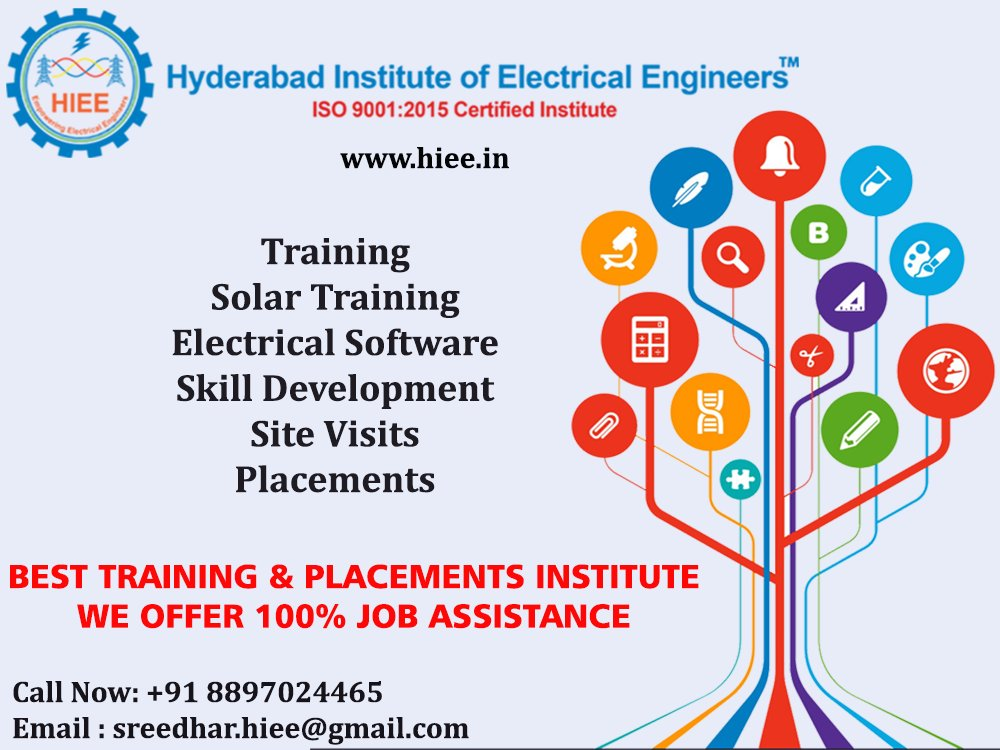 Hyderabad Institute Of Electrical Engineers On Twitter Hyderabad Institute Of Electrical Engineers Provides Best Electrical Design Training With Placement Job Oriented Advance Electrical System Design And Substation Design Get More Details On