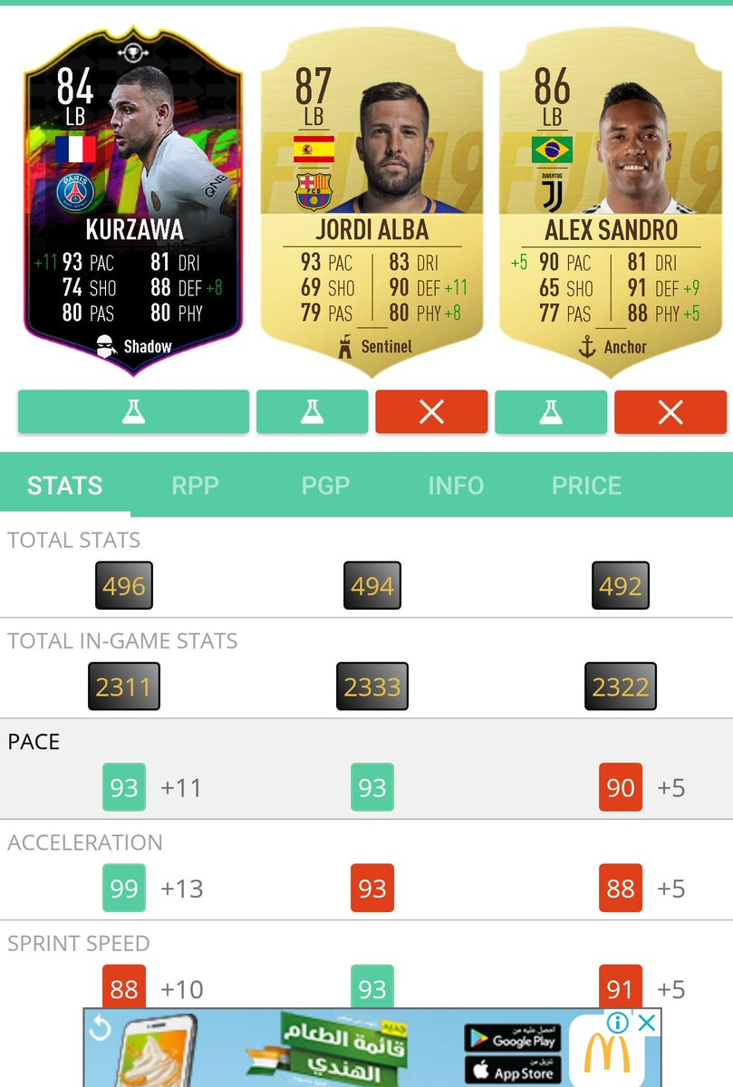 I was thinking to go for Gamiero at first, but he has a lot of alternatives whether French or from LA liga. Kurzawa though is a beast, arguably one of the top LBs in the game. #FUT19 #fifa19