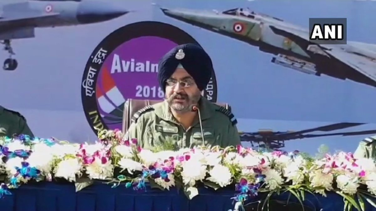 Indian Air Chief Marshal, Birender Singh Dhanoa: Who says we don't need Rafale?The govt says we need Rafale, we are saying we need Rafale, the SC has given a fine judgement, it took us so long that our adversaries have already upgraded their system. #Rafale is a game changer.