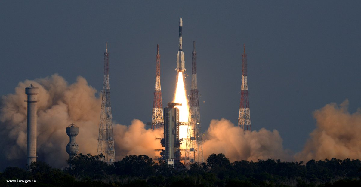 #ISROMissions   🇮🇳 Mission Accomplished! 🇮🇳  Thank You for your support.  #GSAT7A #GSLVF11