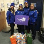 Team Scotland staff out volunteering today @stirlingstartup h...