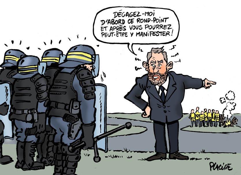 LES LUTTES EN FRANCE vers la restructuration politique (Gilets jaunes) : les débats continués 17 déc.- mars 2019 DuxA05XX4AALdW3