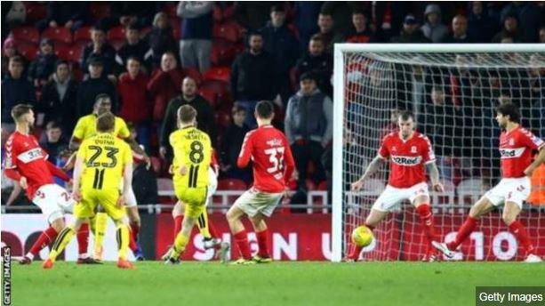 What a night for @burtonalbionfc! Memorable times for the Brewers in the #EFL Cup https://bbc.in/2CnXDBz