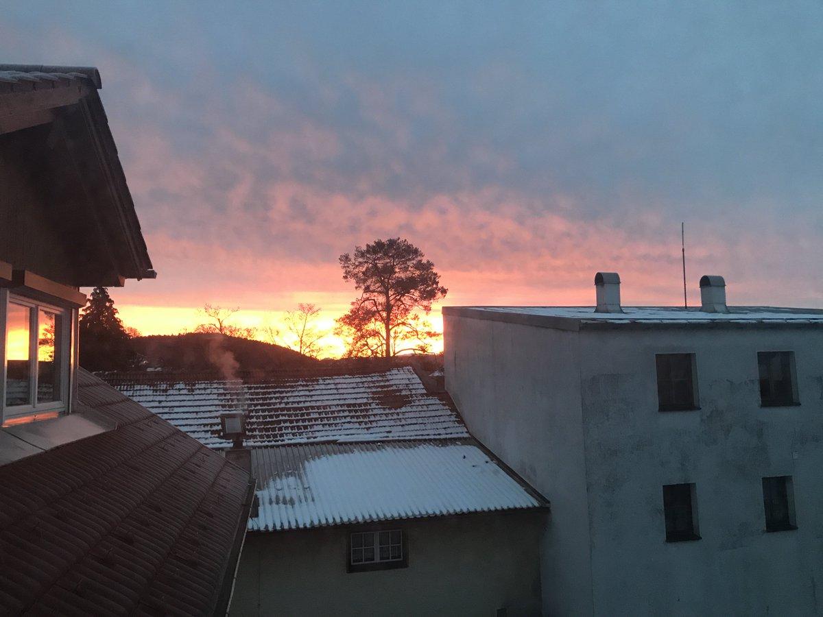 Sonnenaufgang münchen heute