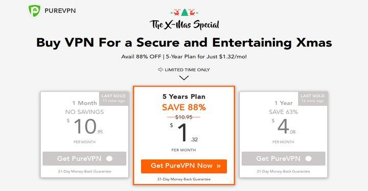 RT tecmint: Get 5-Year #PureVPN For a Secure and Entertaining #Christmas at 88% OFF https://www.fossmint.com/get-purevpn-plan/… via tecmint #Deals #vpn  #linux
