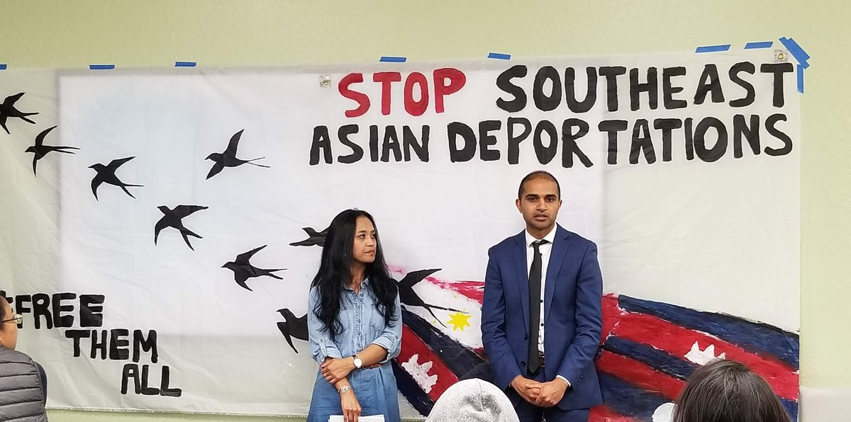 And: Advocates are sounding the alarm over a sharp rise in deportations of Cambodian immigrants living in the U.S. We'll talk with immigrant rights attorne @kevinchloy   @aaaj_alcof  about the fight to stop the deportations, live 8-9AM EThttps://t.co/Xup8cdtnFB at .