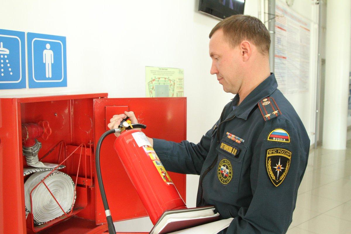 Картинка пожарный инспектор