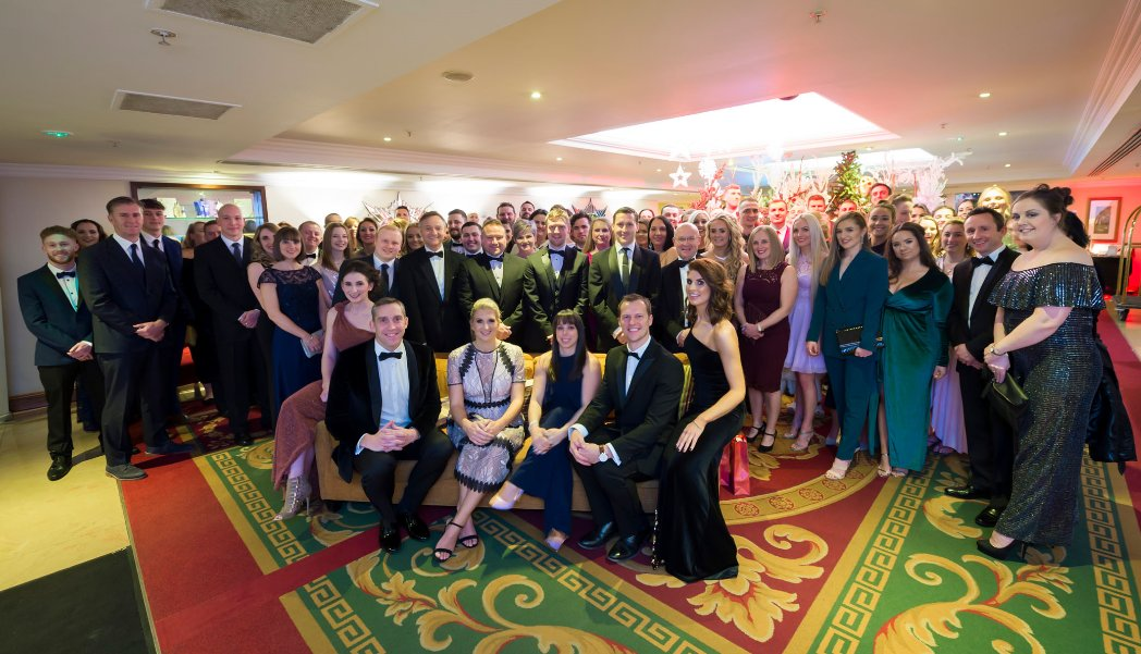 These guys are golden! This amazing team delivered Swimming and Gymnastics classes to 24,000 children in 2018. What a night of celebration the awards do was! Big thank you to my business partners too @BeckAdlington @bethtweddlenews @aditurner  Few mince pies then back too it!