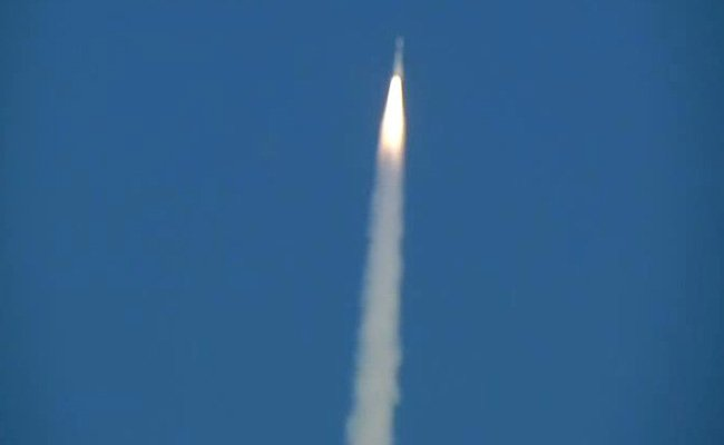 ISRO's GSAT-7A satellite, dubbed the  'Indian Angry Bird ', lifts-off from Sriharikota  This is the 17th mission and last launch of ISRO for the year 2018  Watch LIVEhttps://t.co/hMlRpgrUU6:  and NDTV 24 #ISRO #GSAT7Ax7