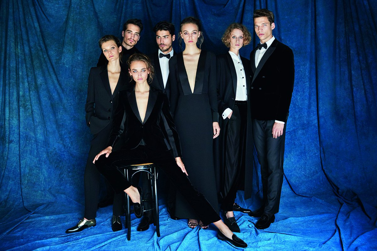 The Giorgio's capsule collection for men and women centres around the concept of the tuxedo, but reimagined un typical #GiorgioArmani style, classic lines, elegance and ease.  Discover more at https://t.co/ZHE6S8XZEU