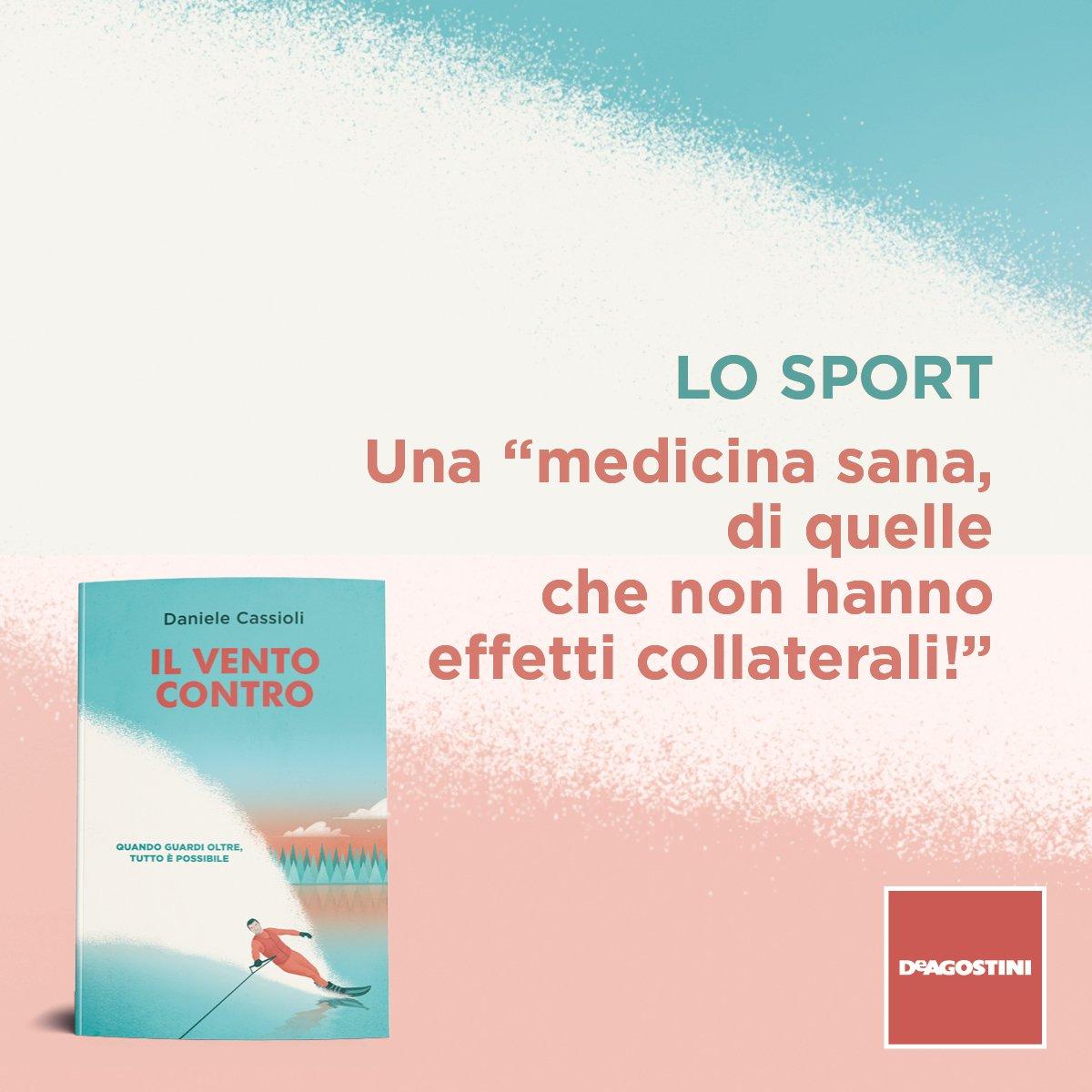 """Nei ringraziamenti del suo libro """"Il vento contro"""", Daniele Cassioli scrive una lettera allo Sport per far conoscere a tutti quanto è stato importante per lui.  http://bit.ly/IlVentoContro"""