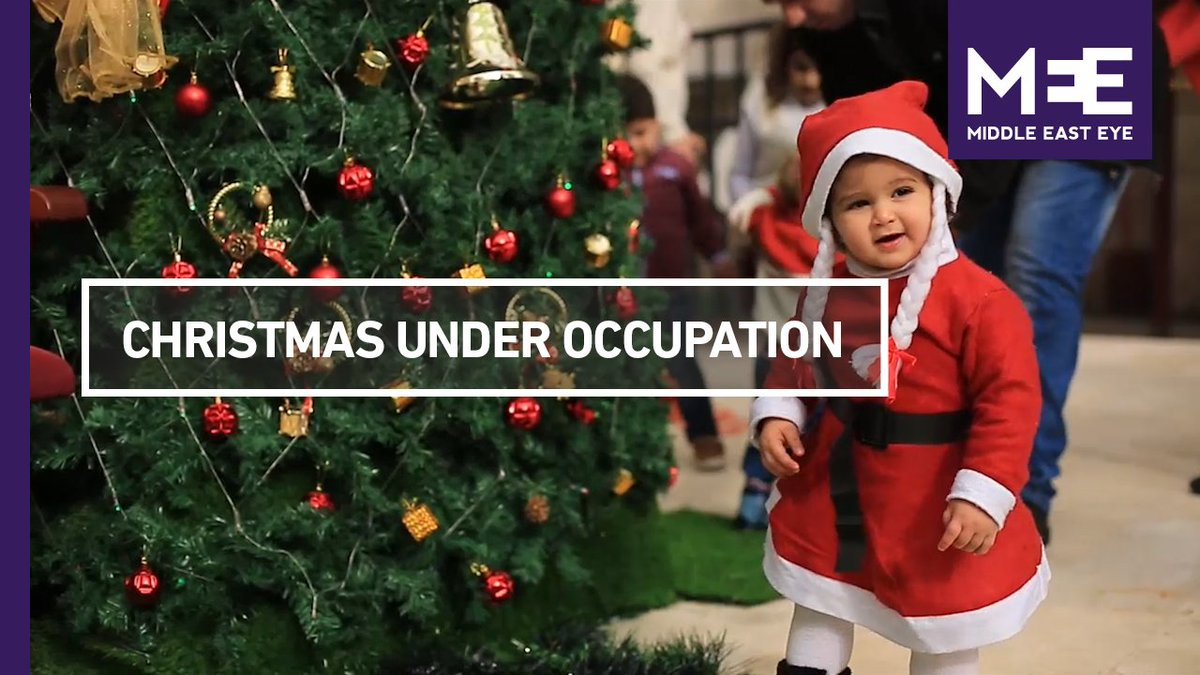 """""""We wait for Christmas to come every year but we never feel it""""  This is Christmas under occupation for Christians in Gaza"""
