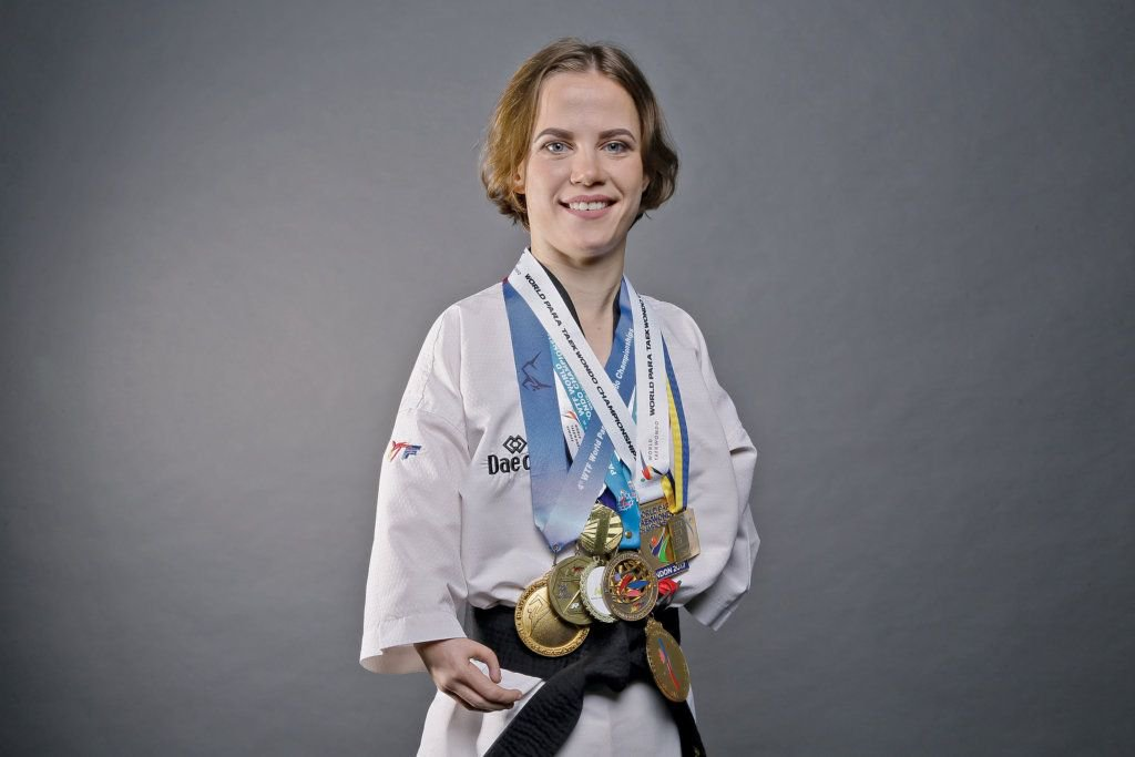 Raised in an orphanage, Victoria Marchuk's been a para-taekwondist for 6 years, winning a world championship on average every year. She won Ukrainian Master of Sports in 2014, & earned a  awa#30Under30rd at the . Me#tigerconference2018et all winners here : https://t.co/uoIWamHZXE