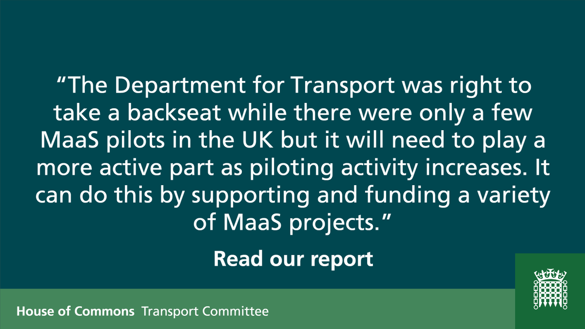 Transport Committee on Twitter: