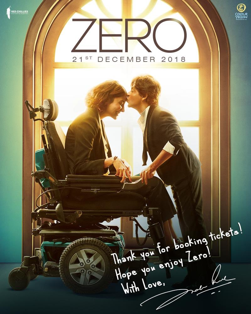 Film nahi feeling hai!! Hope u enjoy #zero... https://t.co/97ay8fDTNv