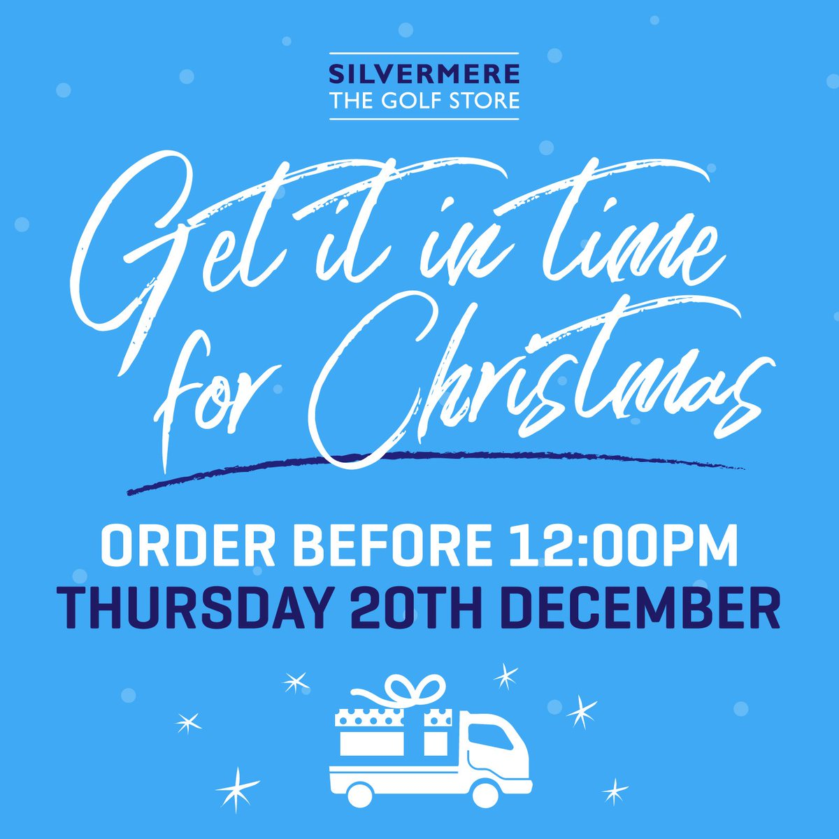 Open For Christmas Orders.Silvermere Golf On Twitter It S Christmas Crunch Time