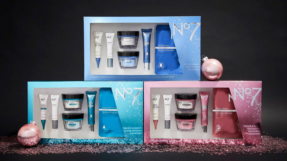 Boots No7 Skincare Gift Set 55 - Gift Ideas