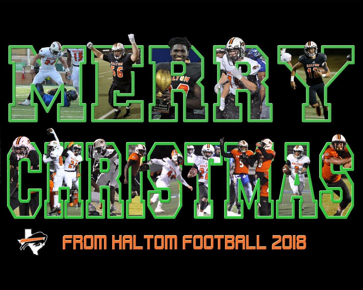 Merry Christmas from #HaltomFamily Football!