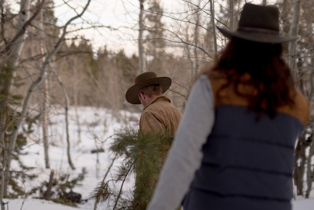a2efb262aa33c Finding the perfect Christmas tree with sofia jaramillo5 and joepajamas.  Hats  Austral 4x and the Gallatin Outdoor  ItsAStetson…  https   t.co BTXzNvGkdk