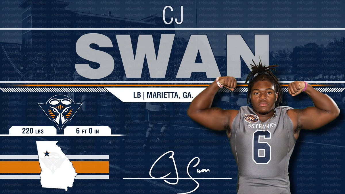Another Georgia 🍑 For The Fam!! Can't Wait For This Monster In The Middle!!!! @Run_it_up Is A Skyhawk! 🔶🔷🏈🏆 #NSD19