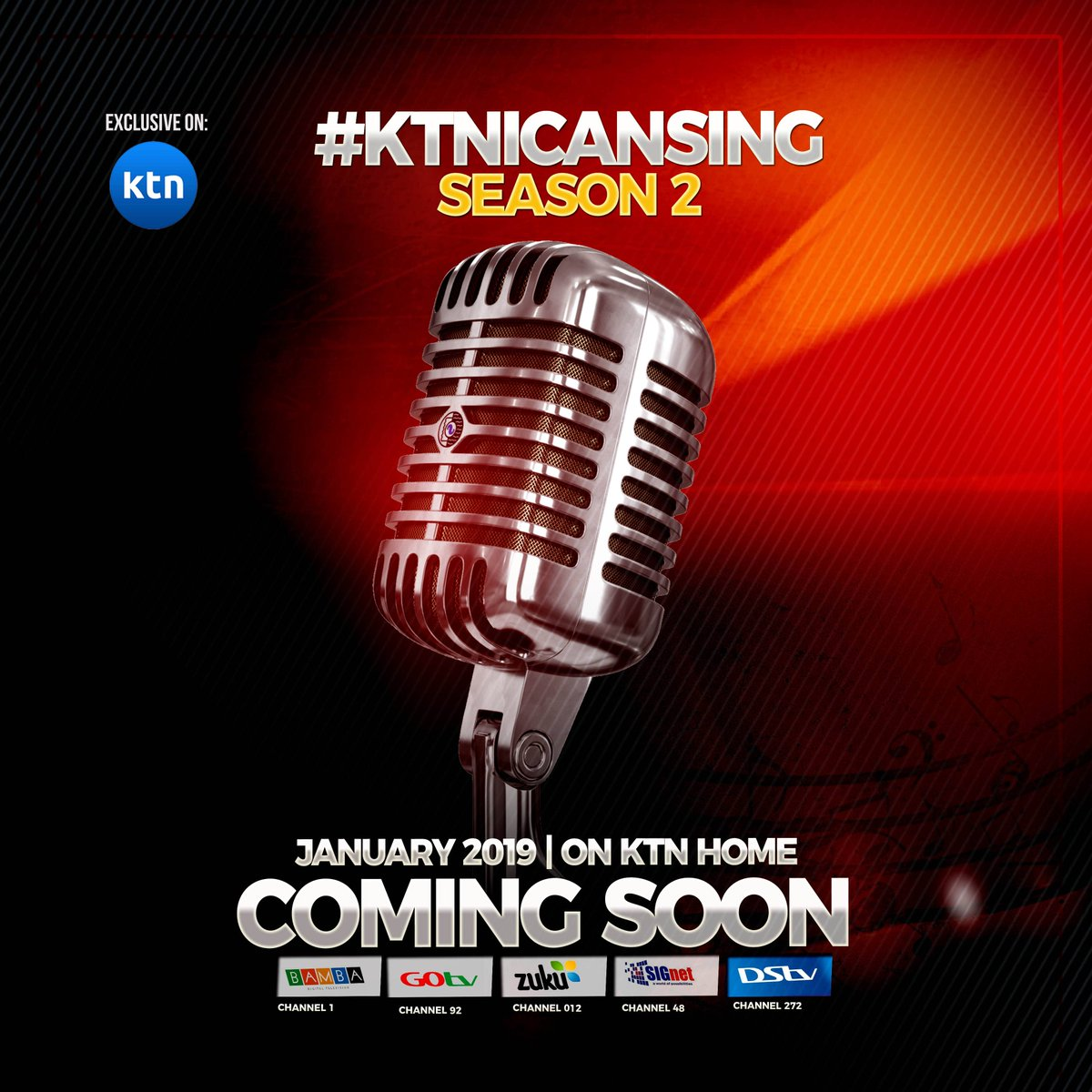 Be sure to catch all the drama and action of #ktnicansing season 2