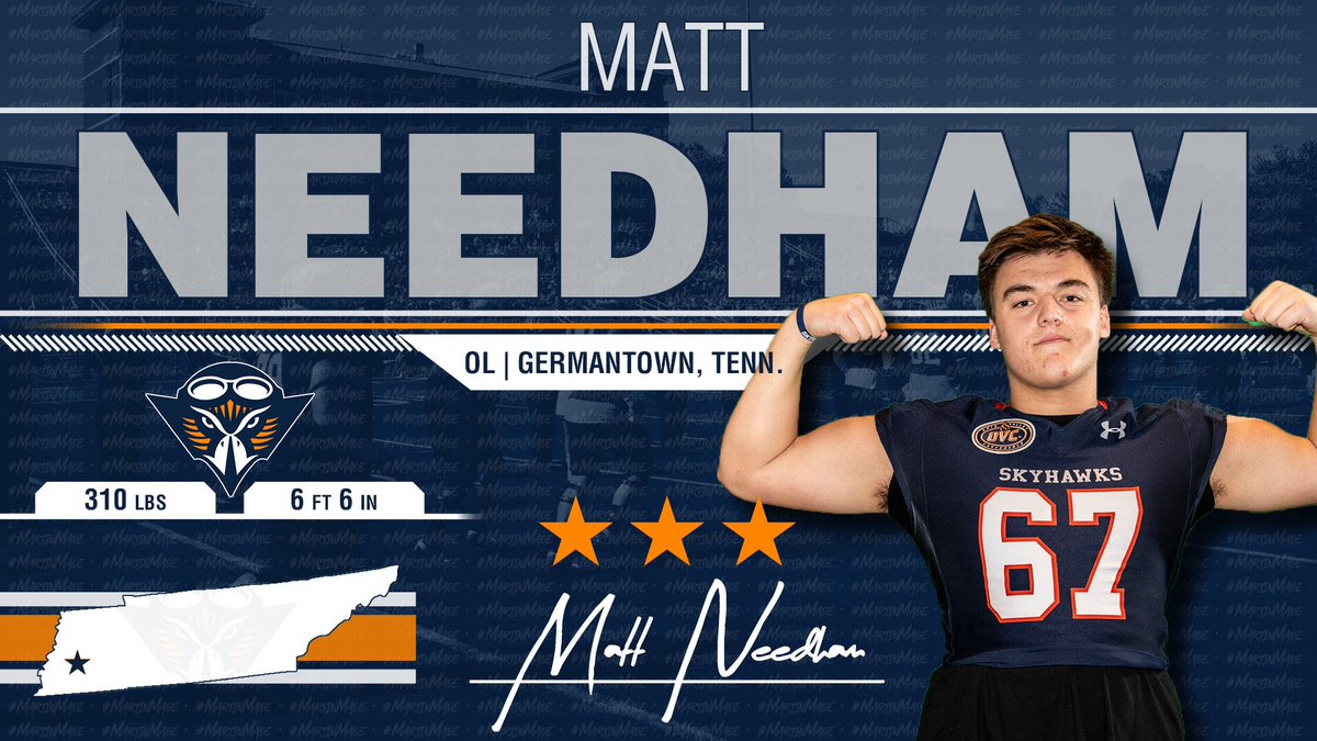 Another Big Time OL Commit!!! @matt_needham_ Is Going To Be A Great Skyhawk!!!! 🔶🔷🏈🏆 #NSD19
