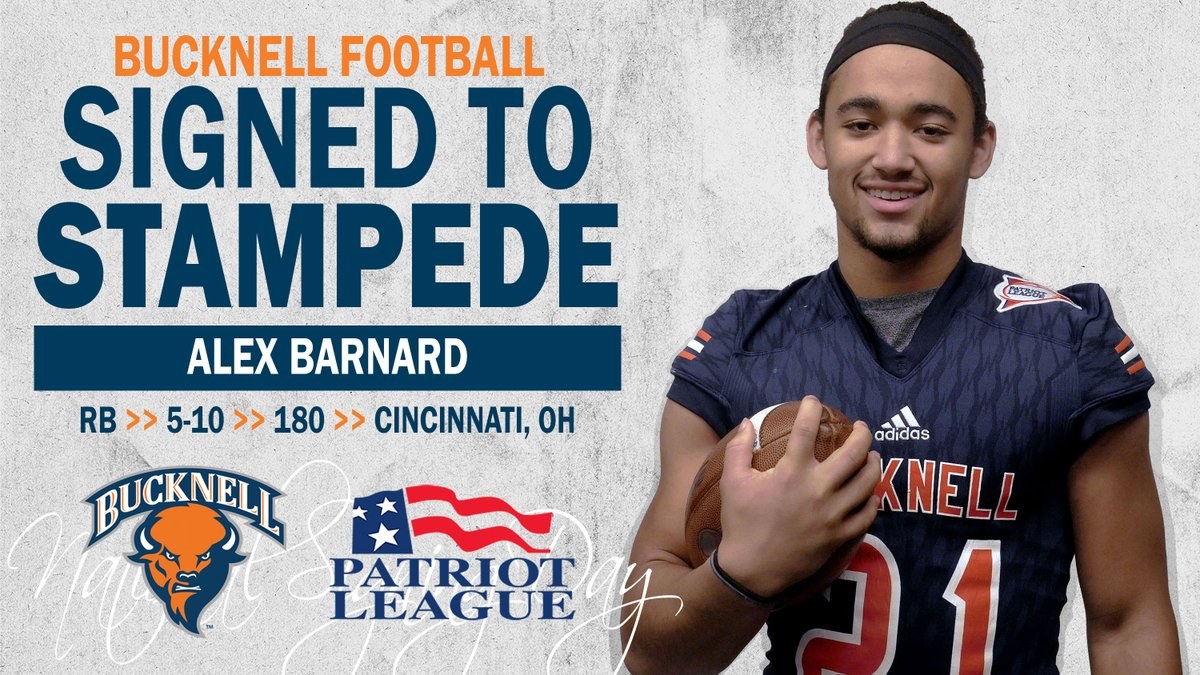 Bucknell Football On Twitter Alex Barnard Prodigy Jab Has Joined Our Herd Out Of Cincinnati Hills Christian Academy Bandofbison Raybucknell Nsd19 Https T Co H9fpezy91q