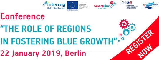 Check out on #SmartSpecialisation & multi-use as drivers for #bluegrowth & much more during 'The role of regions in fostering Blue Growth' conference on 22 Jan | #Berlin. Register NOW to attend the final event by #Interreg #BSR project #SmartBlueRegions! https://t.co/8OznSGkuSU