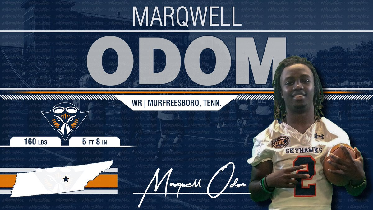 We Are Bringing This Blazer Back Home To TN!!! @_yunggeno Will Add Firepower And Speed To our WR Room!!! He Is A Skyhawk!! 🔶🔷🏈🏆 #NSD19