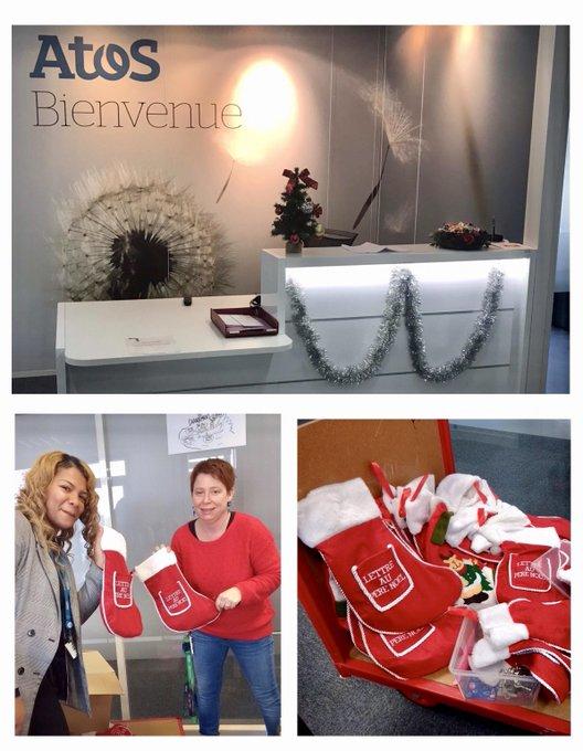 Cette année encore, mission réussie pour l'opération «Chaussettes 🧦 de #Noël» à ...