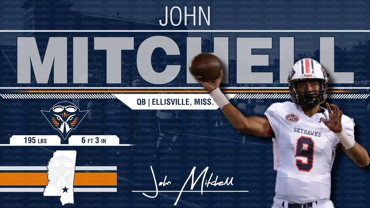 Every Class Needs a Trigger Man! @john_mitchell_6 Has All The Skills To Lead The Skyhawks In The Years To Come!! 🔶🔷🏈🏆 #NSD19