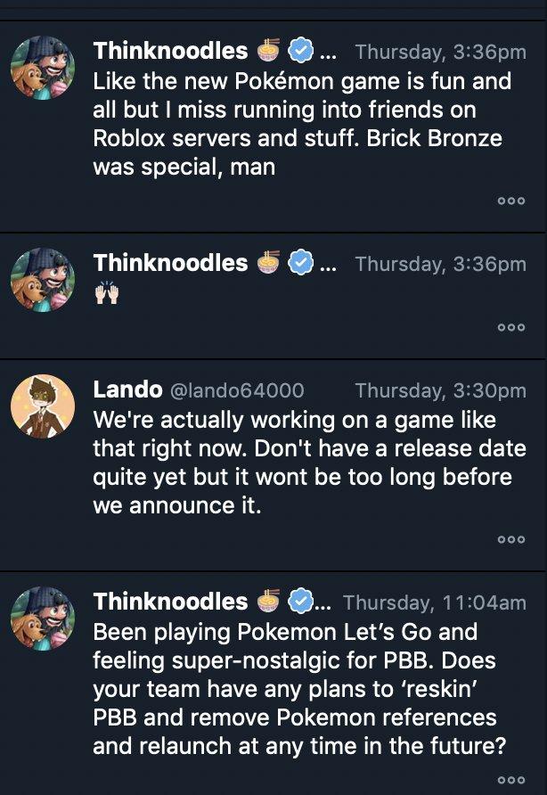 Thinknoodles On Twitter Guyys Brick Bronze Remake