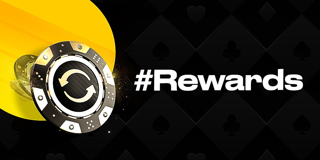 Tonight is our #Rewards Weekly Freeroll where you could take home up to a $1,050 ticket to our Tournament Schedule. Simply earn #1point to reveal your card which could contain a #Rewards Ticket. Read more: https://bit.ly/2EGfrtS 18+ | begambleaware | Play Responsibly